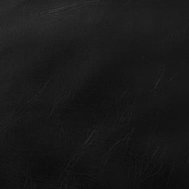 vidaXL Set jastuka od PU kože 2 kom 40x60 cm crni[5/5]