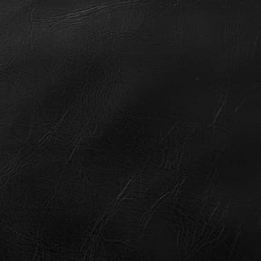 vidaXL Set jastuka od PU kože 2 kom 60x60 cm crni[5/5]