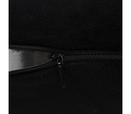 vidaXL Set jastuka od velura 2 kom 45x45 cm crni[4/5]