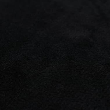 vidaXL Set jastuka od velura 2 kom 45x45 cm crni[5/5]