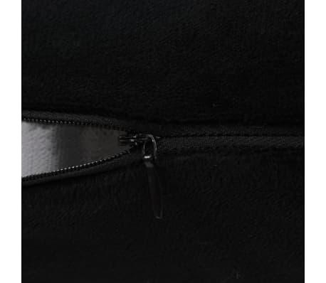 vidaXL Set jastuka od velura 2 kom 40x60 cm crni[4/5]