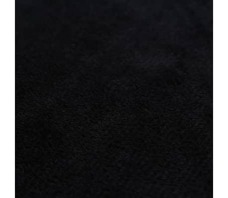 vidaXL Set jastuka od velura 2 kom 40x60 cm crni[5/5]