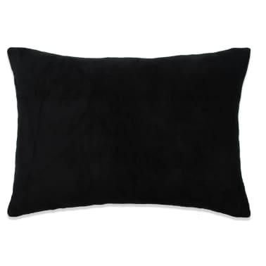 vidaXL Set jastuka od velura 2 kom 40x60 cm crni[2/5]