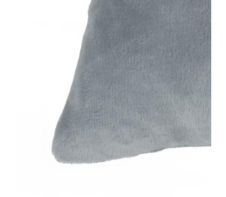 vidaXL Set jastuka od velura 2 kom 45x45 cm sivi[3/5]