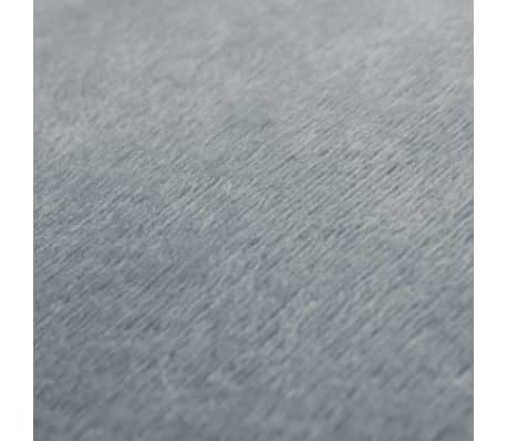 vidaXL Jastučnice od velura 4 kom 80x80 cm sive[5/5]