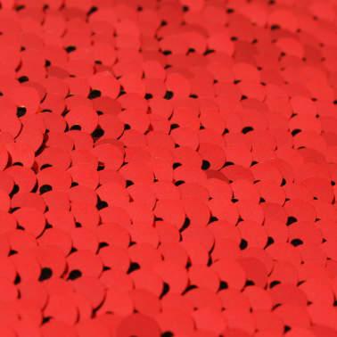 vidaXL Sierkussenset met pailletten 45x45 cm rood en goud 2-delig[5/5]