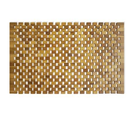 vidaXL Badmat 80x50 cm acaciahout mozaïek[2/5]