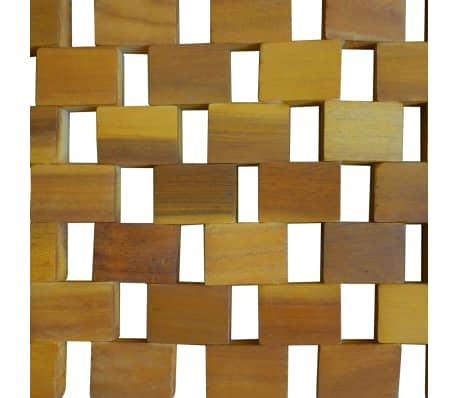 vidaXL Badmat 80x50 cm acaciahout mozaïek[4/5]