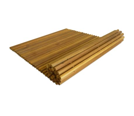 "vidaXL Bath Mat Acacia Wood 31.5""x19.7""[2/5]"
