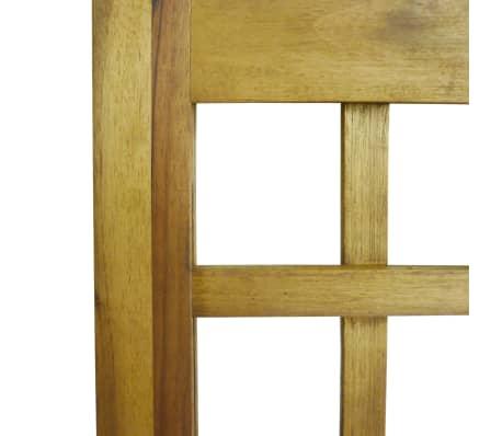 vidaXL Kambario Pertvara/treliažas, 4d., akacijos mediena, 160x170cm[7/7]