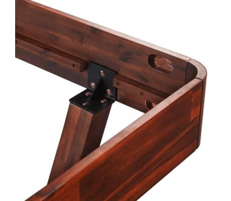 vidaXL Cadru de pat, 180 x 200 cm, lemn masiv de acacia[7/11]