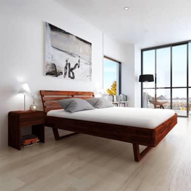 vidaXL Cadru de pat, 180 x 200 cm, lemn masiv de acacia[3/11]