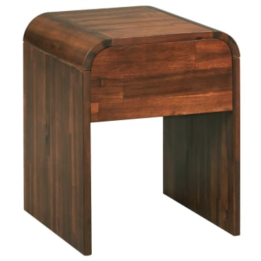 vidaXL Table de chevet 41,5 x 42 x 52 cm Bois d