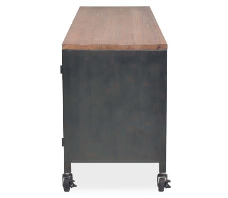vidaXL Mueble para la televisión negro 120x30x43 cm[4/11]