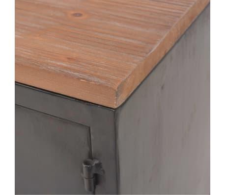 vidaXL Mueble para la televisión negro 120x30x43 cm[7/11]