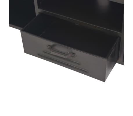 vidaXL Mueble para la televisión negro 120x30x43 cm[8/11]