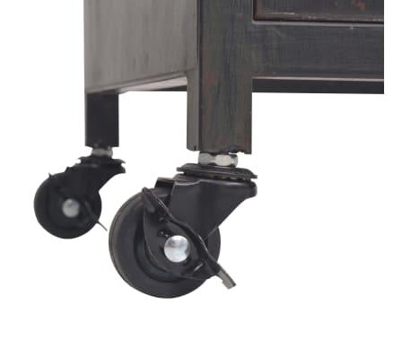 vidaXL Mueble para la televisión negro 120x30x43 cm[9/11]