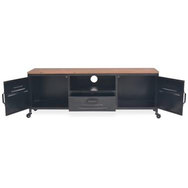 vidaXL Tv-meubel 120x30x43 cm zwart[5/11]