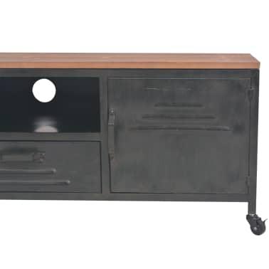 vidaXL Tv-meubel 120x30x43 cm zwart[6/11]