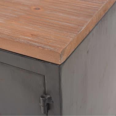 vidaXL TV omarica 120x30x43 cm črne barve[7/11]