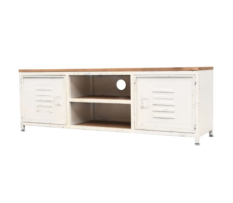 "vidaXL TV Cabinet 47.2""x11.8""x15.7"" White[1/10]"