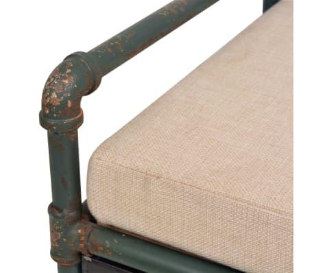 """vidaXL Storage Bench with Cushion 42.3""""x13.6""""x23.2""""[8/11]"""