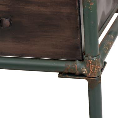 """vidaXL Storage Bench with Cushion 42.3""""x13.6""""x23.2""""[9/11]"""