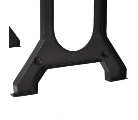 vidaXL Jídelní stůl, masivní jedlové dřevo, 122 x 65 x 82 cm[6/7]