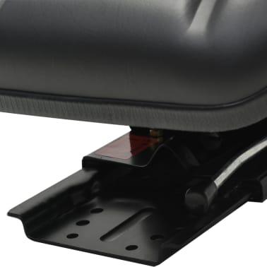 vidaXL Sedež za traktor z vzmetenjem črn[3/8]