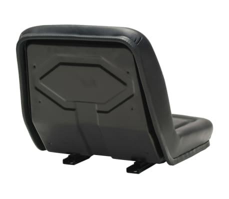 vidaXL Siège de tracteur universel Noir[4/9]