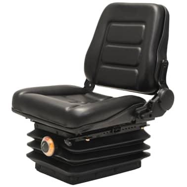 vidaXL Sedež za viličar in traktor vzmetenje prilagodljivo naslonjalo[1/9]