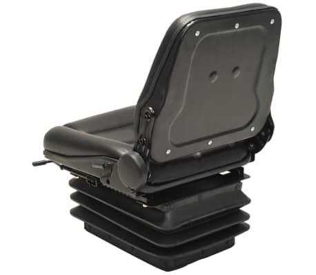 vidaXL Sedež za viličar in traktor vzmetenje prilagodljivo naslonjalo[4/9]