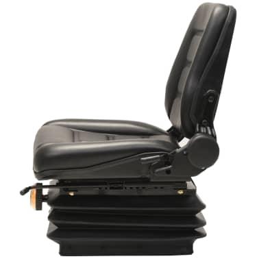 vidaXL Sedež za viličar in traktor vzmetenje prilagodljivo naslonjalo[2/9]