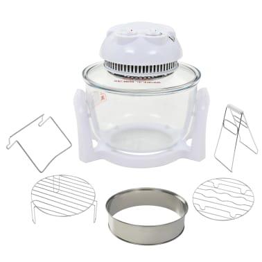 vidaXL Halogenowy piekarnik konwekcyjny z pierścieniem, 800 W, 10 L[2/8]