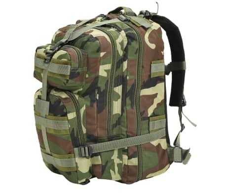 vidaXL Rugzak legerstijl 50 L camouflage