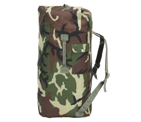 vidaXL Militaristinio stiliaus daiktų krepšys, 85l, kamufliažinis[1/6]