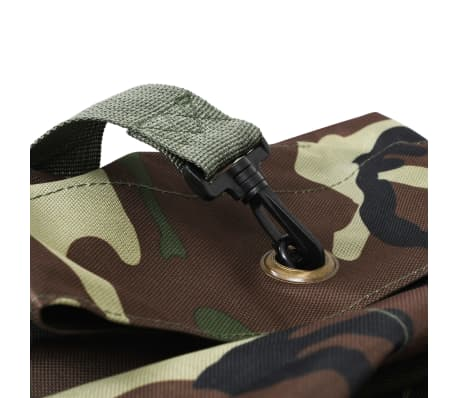 vidaXL Militaristinio stiliaus daiktų krepšys, 85l, kamufliažinis[5/6]
