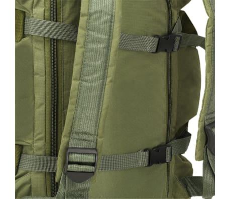 vidaXL Militaristinio stil. daiktų krepšys, 3-1, 120l, alyv. žal. sp.[5/6]
