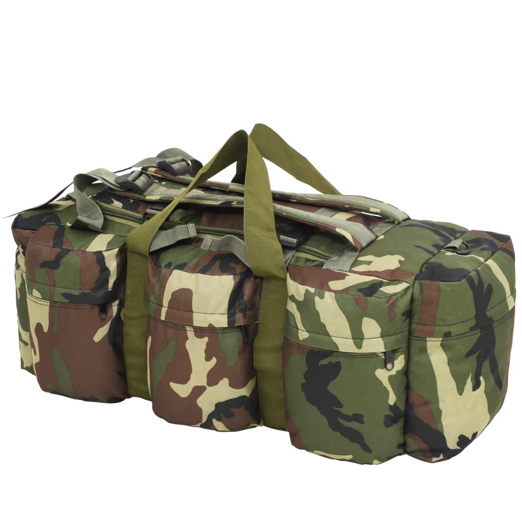 9991389 Seesack 3-in-1 Armee-Stil 120 L Camouflage