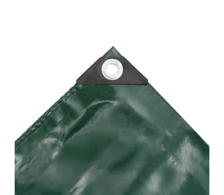 vidaXL Lona 650 g/m² 3x4 m verde[3/5]