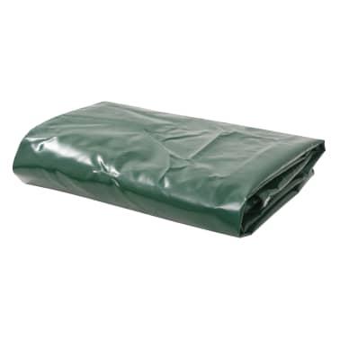 vidaXL Telone 650 g/m² 3x5 m Verde[1/5]
