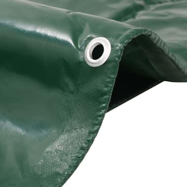 vidaXL Bâche 650 g / m² 3 x 5 m Vert[2/5]