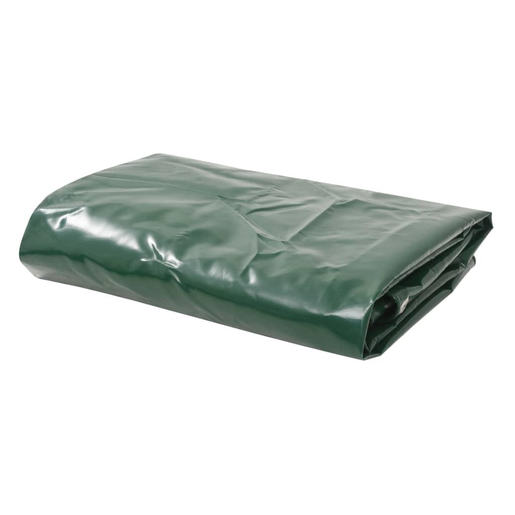 vidaXL Plachta 650 g/m² 3 x 6 m zelená