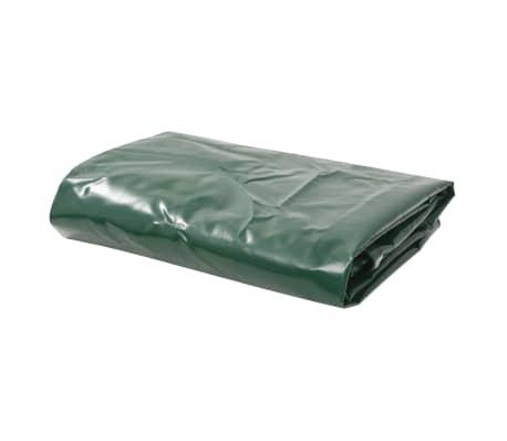vidaXL Bâche 650 g / m² 3 x 6 m Vert[1/5]