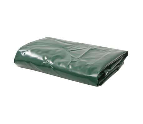 vidaXL Bâche 650 g / m² 4 x 4 m Vert[1/5]