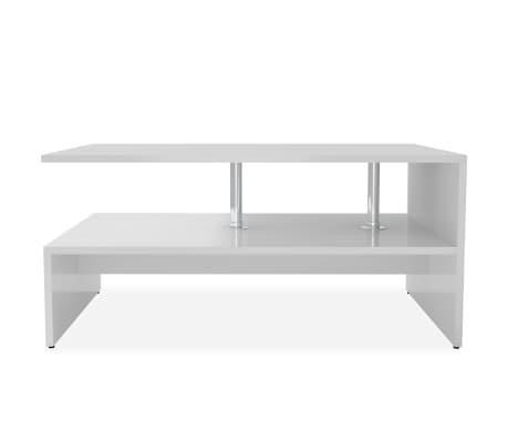 vidaXL sofabord spånplade 90 x 59 x 42 cm hvid[3/6]