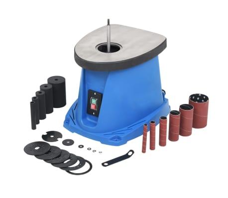 vidaXL Spilschuurmachine oscillerend 450 W blauw