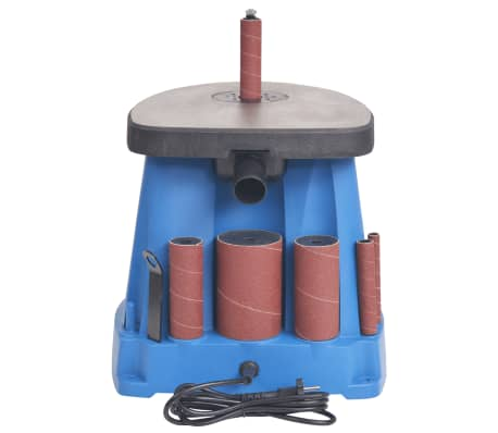 vidaXL Ponceuse à axe oscillant 450 W Bleu[2/8]