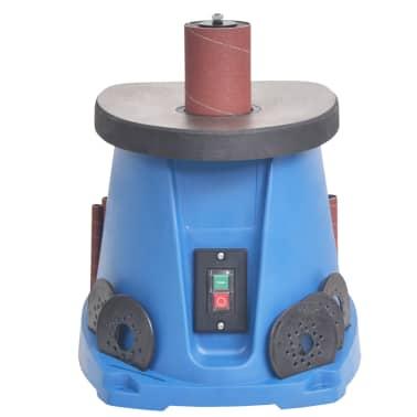 vidaXL Ponceuse à axe oscillant 450 W Bleu[3/8]