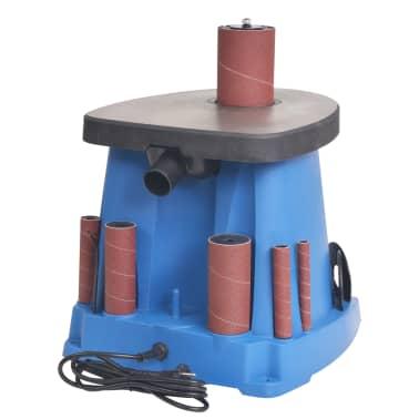 vidaXL Ponceuse à axe oscillant 450 W Bleu[4/8]